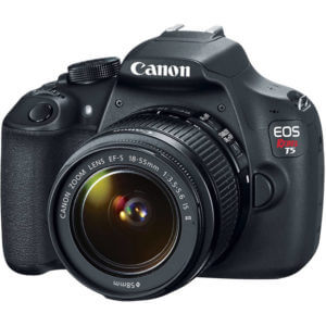 Contoh kamera DSLR