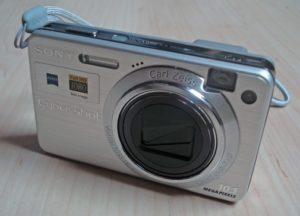 Kamera Saku Sony Cybershot
