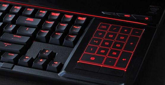 Contoh keyboard backlight