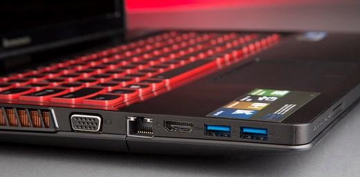 Contoh port laptop