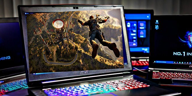 Ilustrasi laptop gaming terbaik