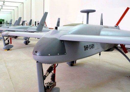 Contoh endurance drone