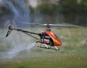 Contoh nitro powered drone