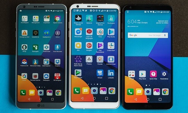 Desain LG G6 - Review LG G6