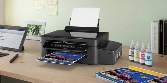 Ilustrasi cara merawat printer