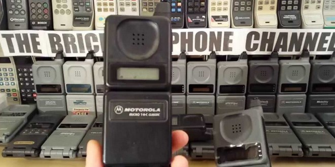 Ilustrasi sejarah handphone