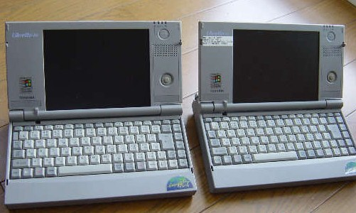 Toshiba Libretto generasi pertama
