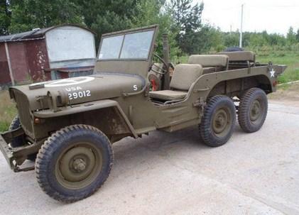 Jeep militer tahun 1940-an