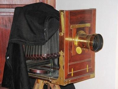 Sejarah kamera - Kamera Pelat Kering
