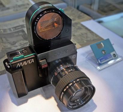 Kamera Sony Mavica 1981