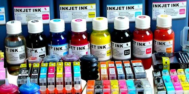 Ilustrasi tinta printer