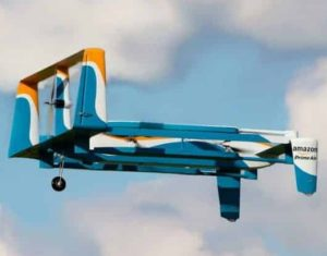 Contoh delivery drone