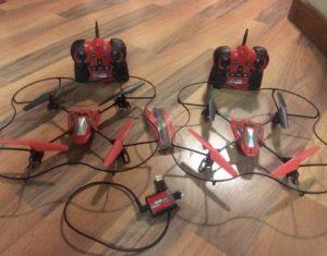 Contoh trick drone