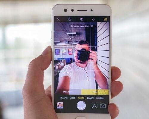 Kamera Oppo F3