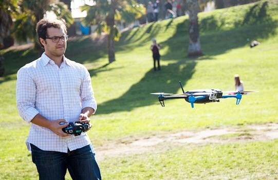 Kemampuan menerbangkan drone