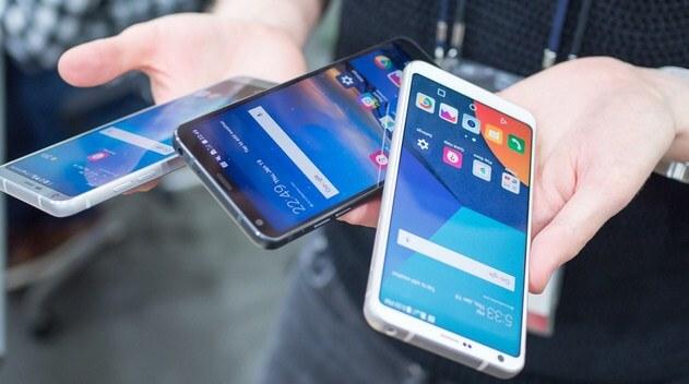 Pilihan warna LG G6