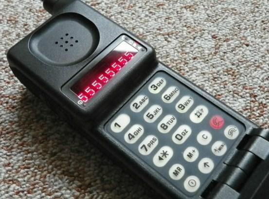 Motorola MicroTAC 9800X - Sejarah handphone