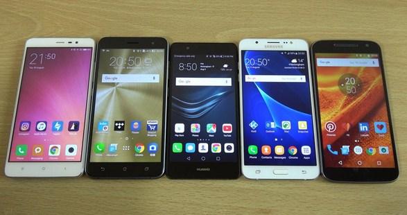 Contoh model handphone zaman sekarang