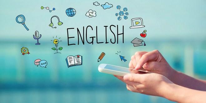 Ilustrasi aplikasi belajar bahasa Inggris