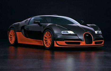 mobil Bugatti Veyron Super Sport