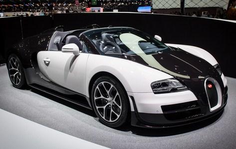 Mobil Mansory Vivere Bugatti Veyron