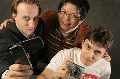 Chad Hurley, Steve Chen, dan Jawed Karim