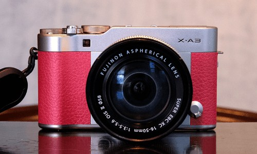 Gambar Fujifilm X-A3